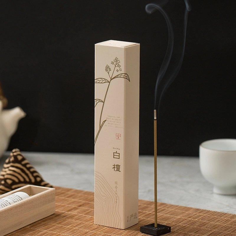 Incense Sticks White Sandalwood-Made in Japan (40 Sticks) Personal Care Lifease