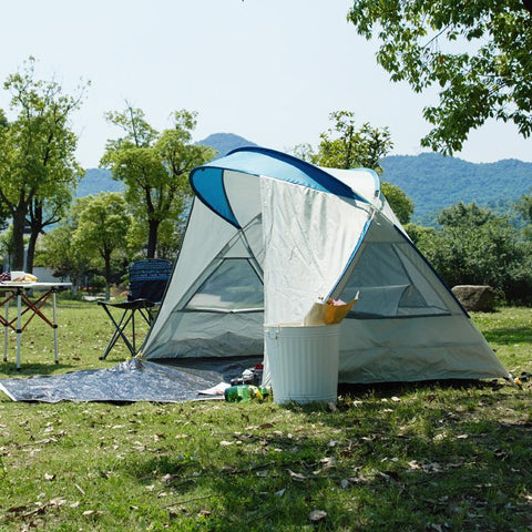 Instant Pop Up Camping Tent for 3-4 Person Sports & Travel LIFEASE