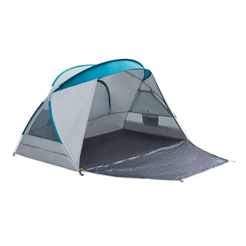 Instant Pop Up Camping Tent for 3-4 Person Sports & Travel LIFEASE White and Blue