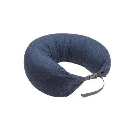 Japanese Style Multi-function Neck Pillow Double Buckle Sports & Travel LIFEASE Navy