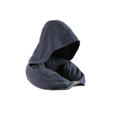 Japanese Style Multifunctional Neck Pillow With Cap Sports & Travel LIFEASE Navy