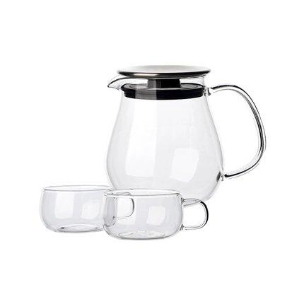 Japanese Style Tea Cup Set of 2 Home & kitchen LIFEASE Tea Pot 720ml*1 + Tea Cup 130ml*2