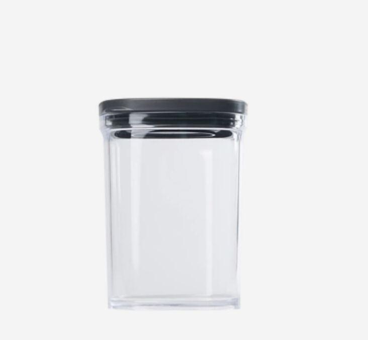 Kitchen Food Storage Containers - 7oz - 17.5oz [Made In Japan] Home & kitchen LIFEASE Black Large