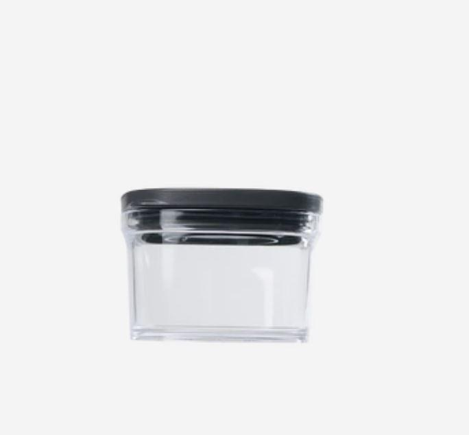 Kitchen Food Storage Containers - 7oz - 17.5oz [Made In Japan] Home & kitchen LIFEASE Black Small