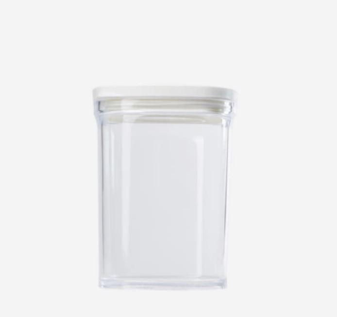 Kitchen Food Storage Containers - 7oz - 17.5oz [Made In Japan] Home & kitchen LIFEASE White Large