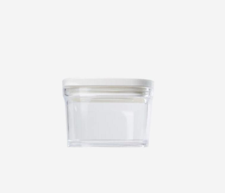 Kitchen Food Storage Containers - 7oz - 17.5oz [Made In Japan] Home & kitchen LIFEASE White Small