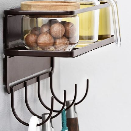 Kitchen Magnetic Storage Rack Home & kitchen LIFEASE
