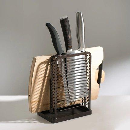 Knife & Cutting Board Organizer Home & kitchen LIFEASE