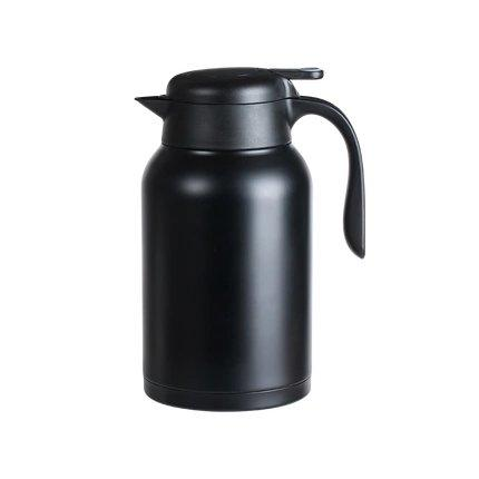 Large Capacity Insulation Pot 2L Home & kitchen LIFEASE Black