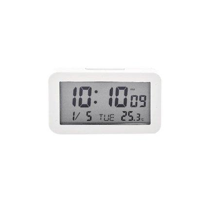 LCD Digital Clock Home & kitchen Lifease White