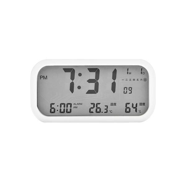 LCD Digital Clock Home & kitchen Lifease White (Large)