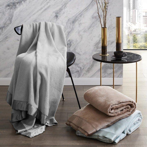 Light Luxury Silk Blanket Home & kitchen LIFEASE