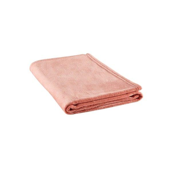 "Lightweight and Warm Multi-purpose Blanket for Office and Home 39""x55"" - Multiple Colors Home & kitchen LIFEASE Pink 39""x55"""