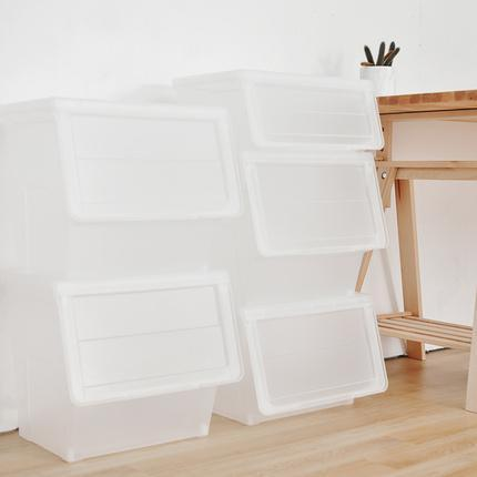Liter Storage Box, White Lid with Clear Base Home & kitchen LIFEASE