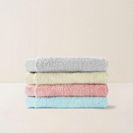 "Long-Staple 100% Combed Cotton Towel 13"" x 29.5"" Home & kitchen LIFEASE"