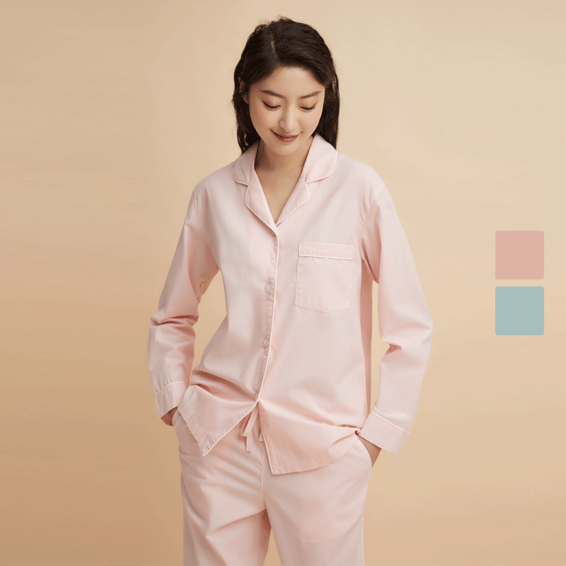 Women's 100% Cotton Pajama Set