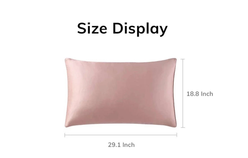 Luxurious Mulberry Silk Pillowcase - Standard/Queen Size - Multiple Colors Home & kitchen LIFEASE