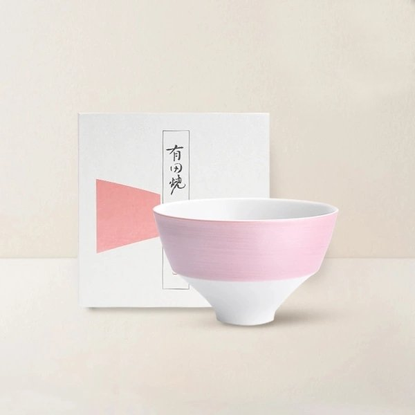 [Made in Japan] Arita Sakura Pink And Silver Foil Tableware - Lifease