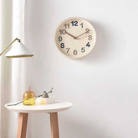 [Made in Korea] Light Birch Wood Clock - Lifease