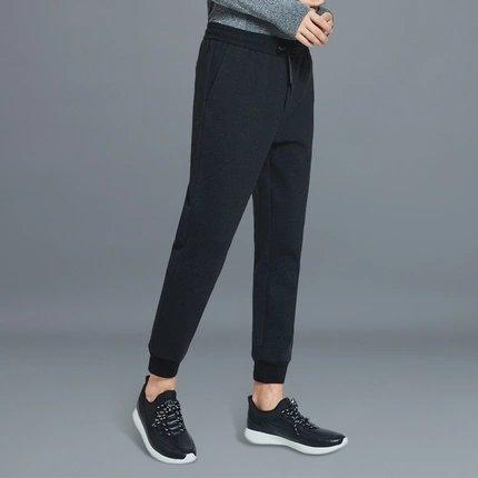 Men's Basic Fleece Jogger Pants Apparel shoe bag LIFEASE