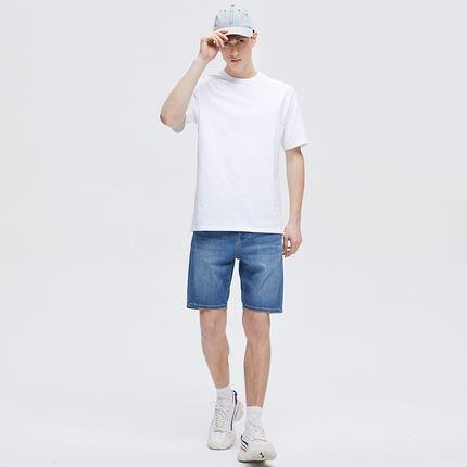 Men's Cotton Loose Short-sleeved T-shirt Apparel shoe bag LIFEASE