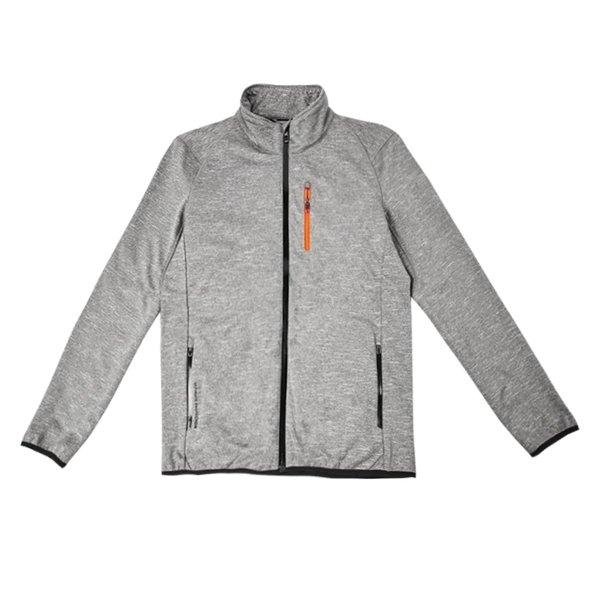 Men's Fleece Jacket Sports & Travel LIFEASE Grey M