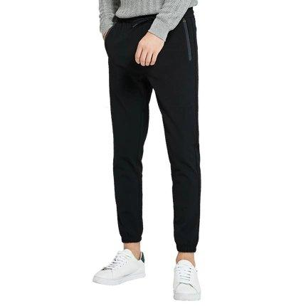 Men's Jogger Sweatpants Apparel shoe bag LIFEASE Black S