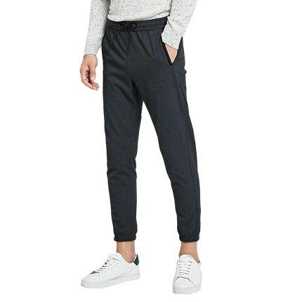 Men's Jogger Sweatpants Apparel shoe bag LIFEASE Grey L