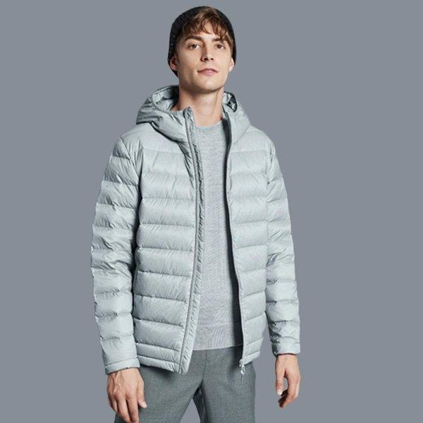 Men's Lightweight Slim-fit Down Jacket Holiday special LIFEASE