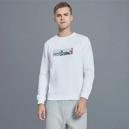 Men's Sweatshirt with Printed Iceberg Apparel shoe bag LIFEASE
