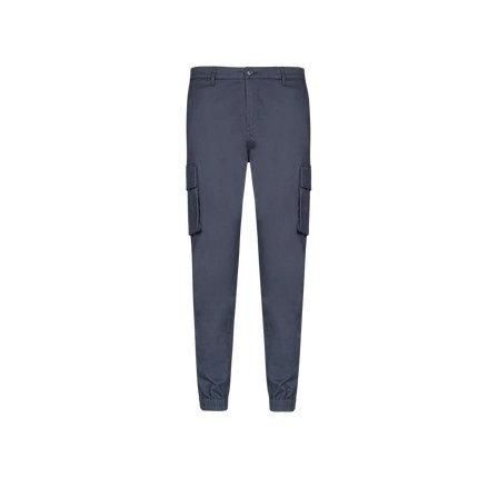 Men's Tooling Trousers with Multi-Pocket Apparel shoe bag LIFEASE Grey 29 Fall- Winter