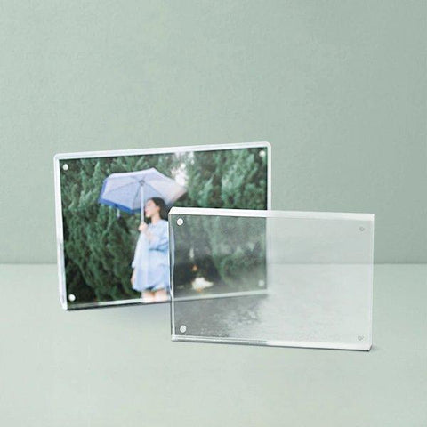 Multifunctional Transparent Acrylic Photo Frame Home & kitchen LIFEASE