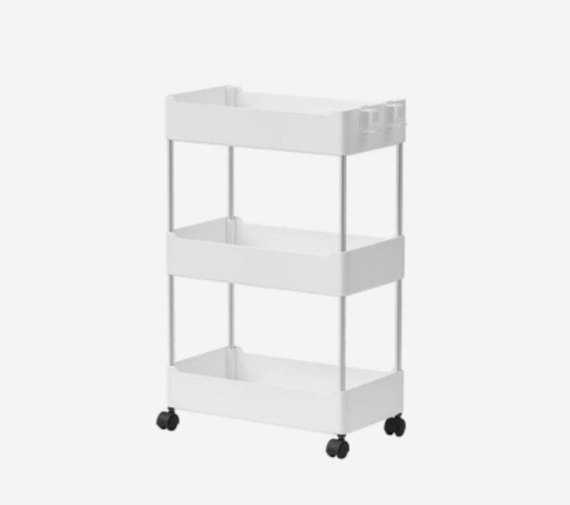 Multipurpose Storage Rack Shelving Unit Bookshelf Cabinet with 3 and 4 Bins Home & kitchen LIFEASE