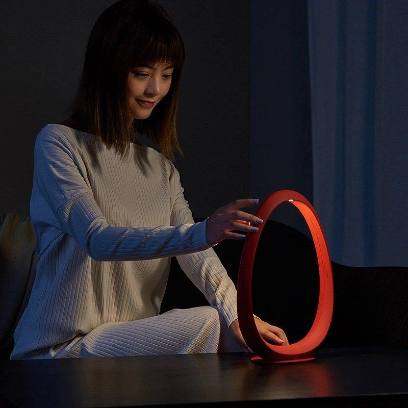 Nebula Ring Bedside Lamp Home & kitchen LIFEASE