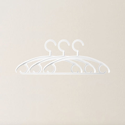 Non-Slip Coat Hanger 3 Pieces Home & kitchen LIFEASE Grey