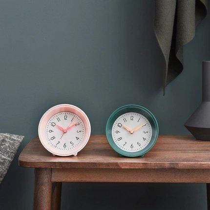 Nordic Style Silent Bedside Table Alarm Clock Home & kitchen LIFEASE