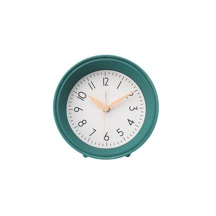 Nordic Style Silent Bedside Table Alarm Clock Home & kitchen LIFEASE Green