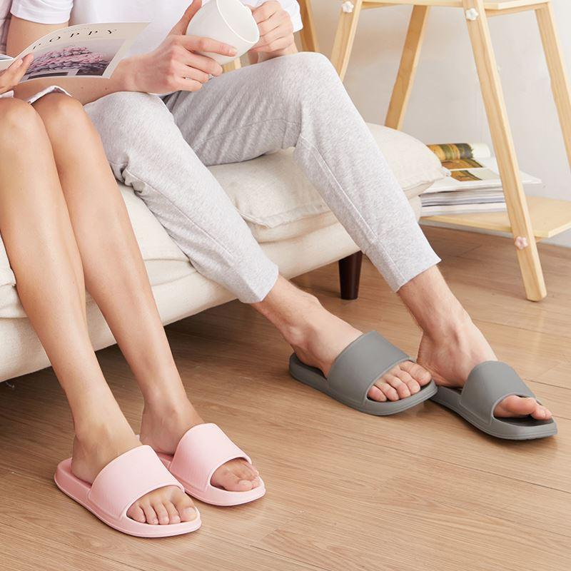 Open Toe House Slippers with Flexible EVA Soles Home & kitchen LIFEASE