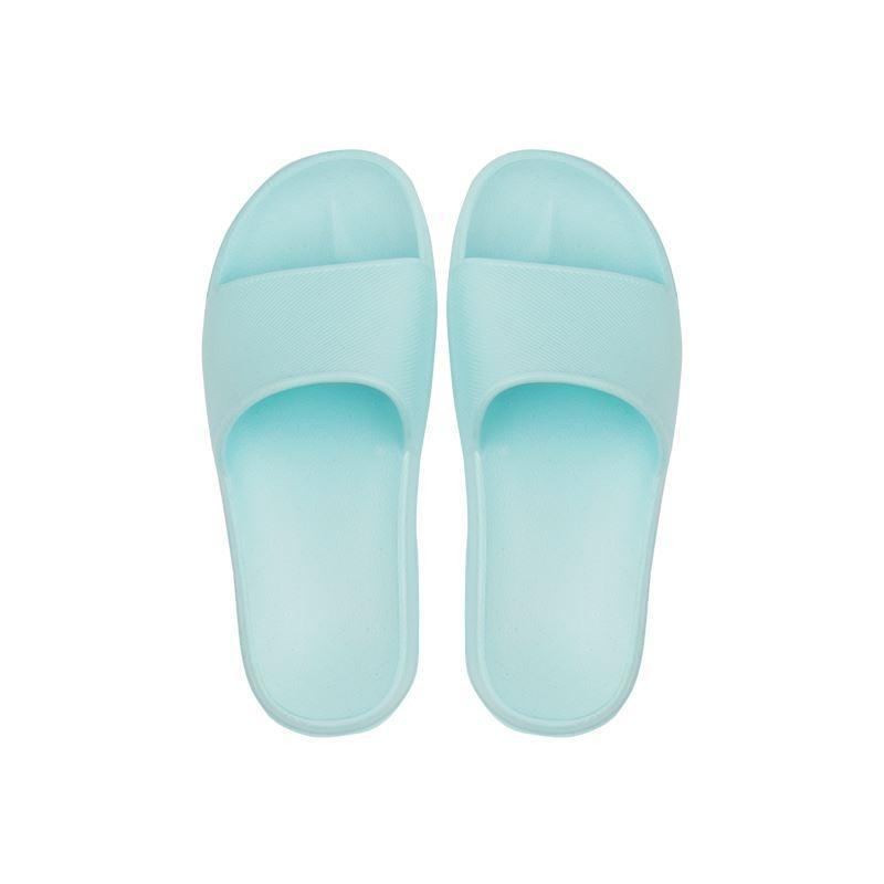 Open Toe House Slippers with Flexible EVA Soles Home & kitchen LIFEASE Blue Women 5.5-6.5