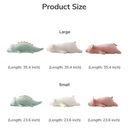 Cuddly Stuffed Animal Long Pillow Cushion - (Small 24''/ Large 35'')