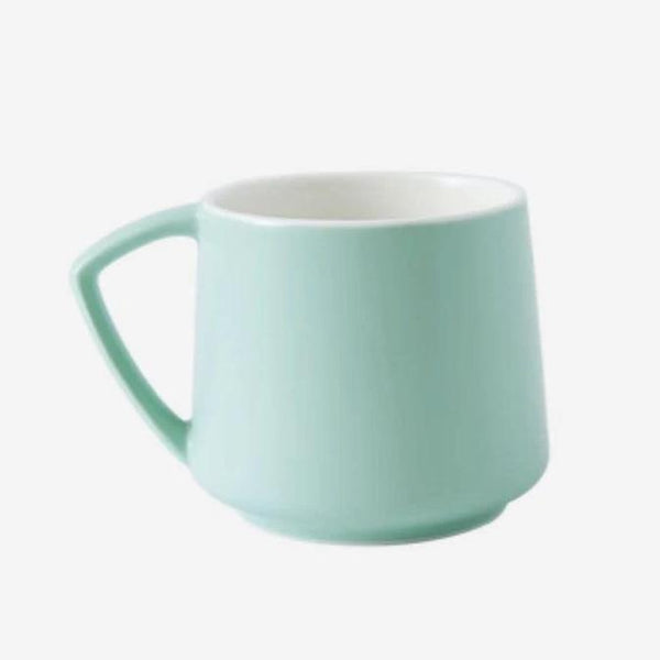 Plain Non-Stick Ceramic Mug - Multiple Colors Home & kitchen LIFEASE Green