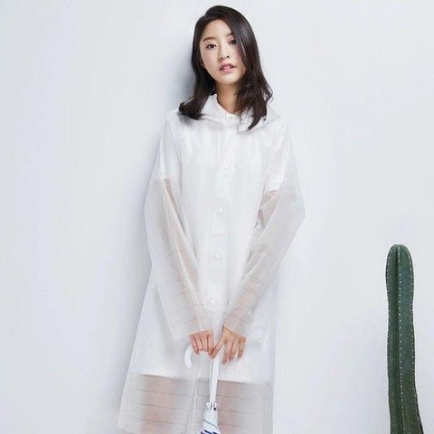 Portable Transparent Raincoat - Lifease