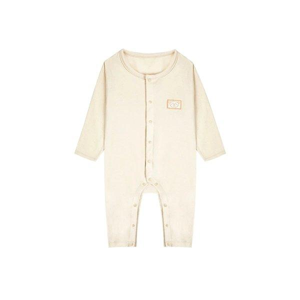 Pure Cotton Button Bodysuit for Newborn Baby Care LIFEASE 26 Inch