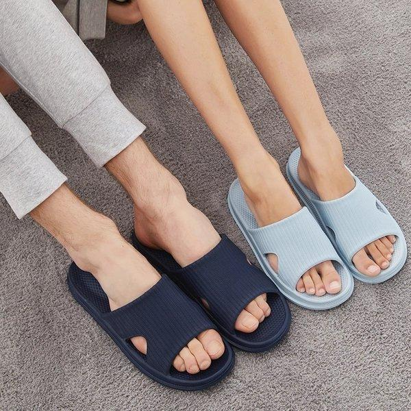 Soft Sole Open Toe House Slippers for Men and Women Home & kitchen LIFEASE