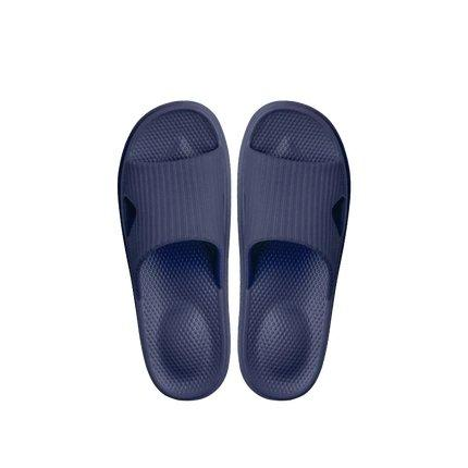 Soft Sole Open Toe House Slippers for Men and Women Home & kitchen LIFEASE Blue Men M
