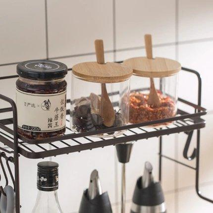 Spice Jar Storage Rack Home & kitchen LIFEASE