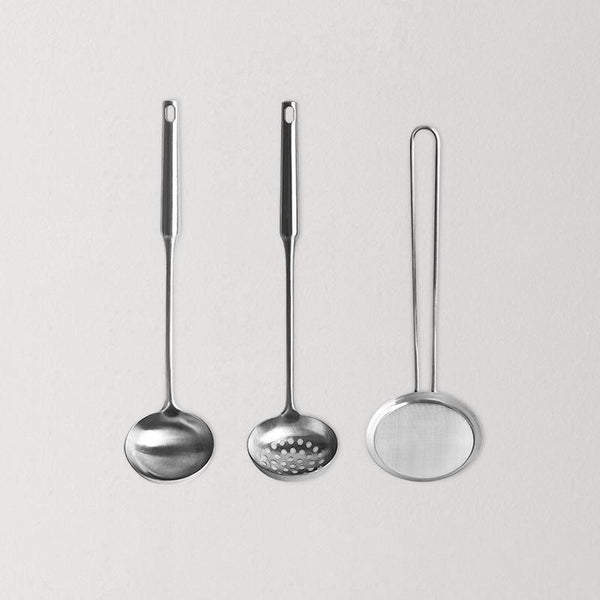 Stainless Steel Ladle, Straining Ladle, Colander Set For Hot Pot - Available Individually Home & kitchen LIFEASE