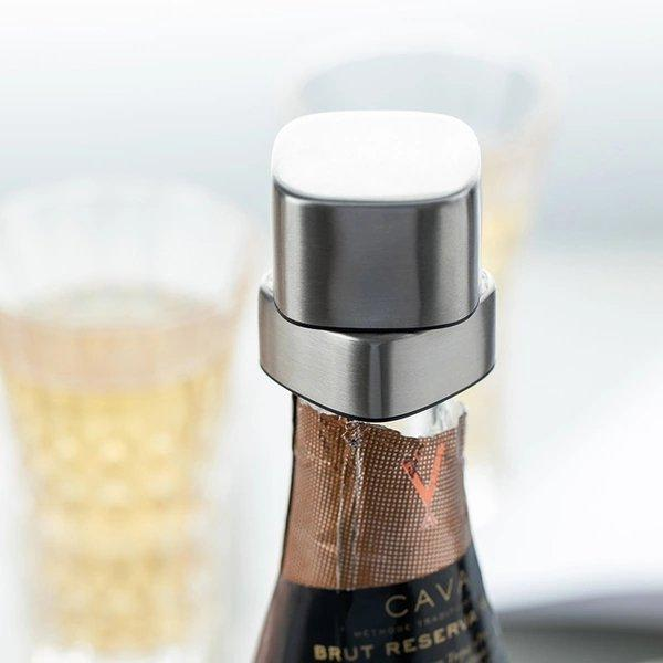 Stainless Steel Rotating Champagne Stopper Home & kitchen LIFEASE