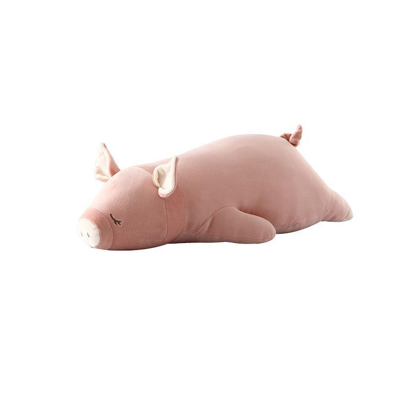 Stuffed Animal Pillow Cushion/Plush Toy - (Small 24''/ Large 35'') Holiday special LIFEASE Milo Pig Small 24""