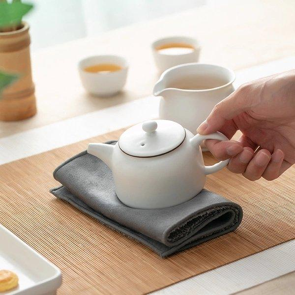 Suede Absorbent Tea Towel Home & kitchen LIFEASE